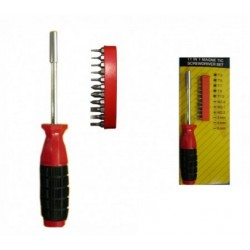 Magnetic BIG Screw Driver ToolKit Inter Changeable Multi Function Set