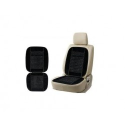 Car Wooden Bead Seat Cushion With Velvet Border