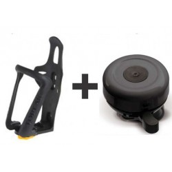 Bicycle Water Bottle Holder + Bicycle Bell
