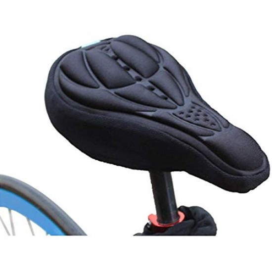 Cycle Silicone Seat Cover and Cycling Cushion Pad Bike Gel Cover