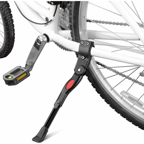 Bicycle Side Kick Adjustable Alloy Stand Black Cycling Cycling Stand