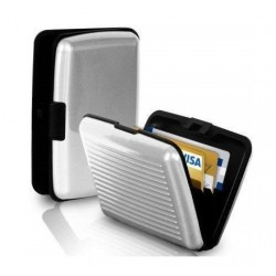 2 Pcs - Security Credit Card Wallet Light Weight Water Resistant 6 Pockets