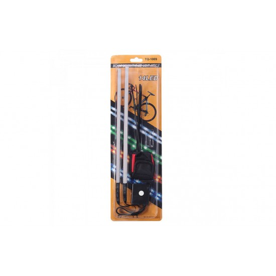 Cycle Frame Light 14 LED, 3 Changing Modes, TQ-1009