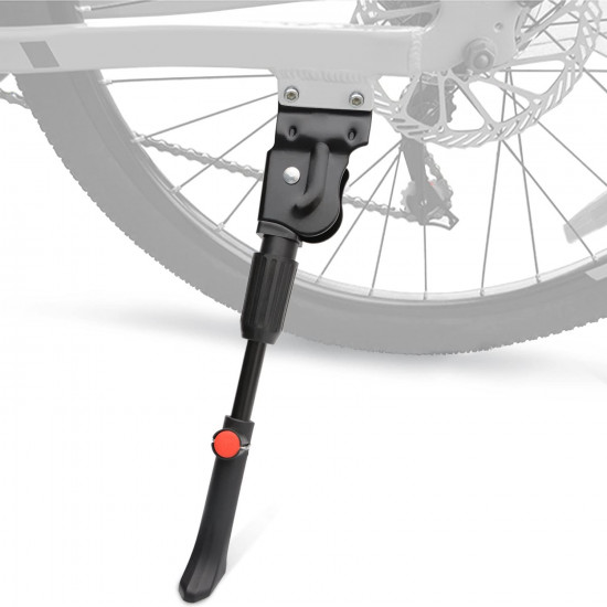 Cycle Stand, Bicycle Side Stand Rear Stand, Adjustable Universal Cycling Stand