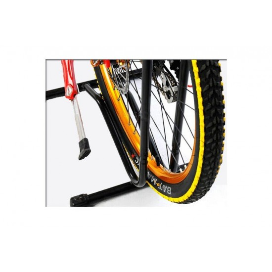 Cycle Parking Stand Aluminium,  Bicycle Floor Parking Holder Stand, Aluminium