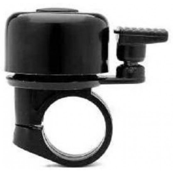 Cycle Bells Black Aluminum Alloy And Engineering Plastic, Bicycle Thumb Small Bell