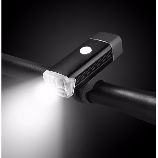 Bike Bicycle 360 Degree Rotate USB Rechargeable 4 Mode Aluminum Alloy LED Light
