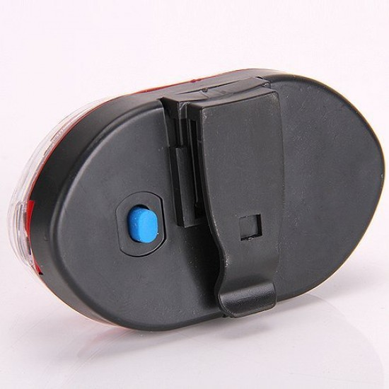 Bike Bicycle 7 Mode RED Cycle Tail 9 LED Rear Break Light
