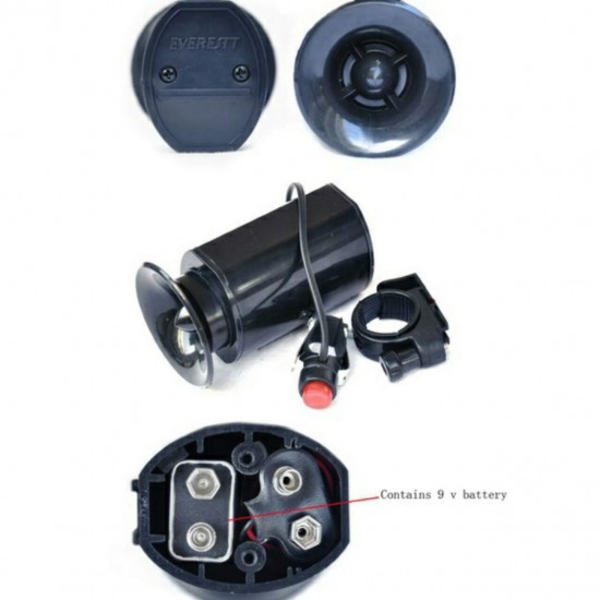 Bike Bicycle Wireless Ultrasound Electric Battery Horn Bell
