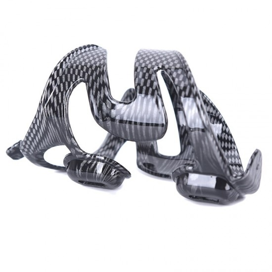 Bike Bicycle Handle Bar Plastic Black Drinks Water Bottle Holder Cage Stand