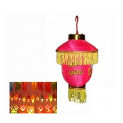 2 Pcs Diwali Hanging Light Lantern