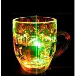 2 PCS - Automatic LED Light Up Magic Drink Glass Cup for Diwali Party