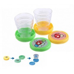 2 Pcs Collapsable Pocket Magic Cups