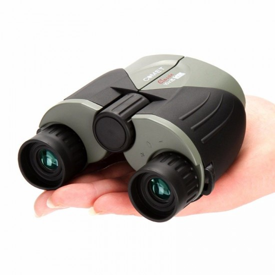High Optical Lens Binocular 10X25 HD Wide Vision Outdoor Tourism Camping Hunting Travel