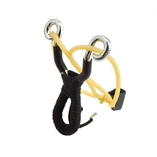 Stainless Steel Thick Powerful Alloy Rassi Slingshot Catapult Sports Outdoor Hunting Gulel