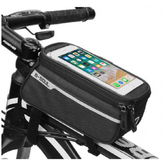 Bike Bicycle Waterproof Touch Screen Frame Mobile Phone Accessories Pouch Case Bag