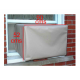 2 Pcs Set Split AC Dust Cover