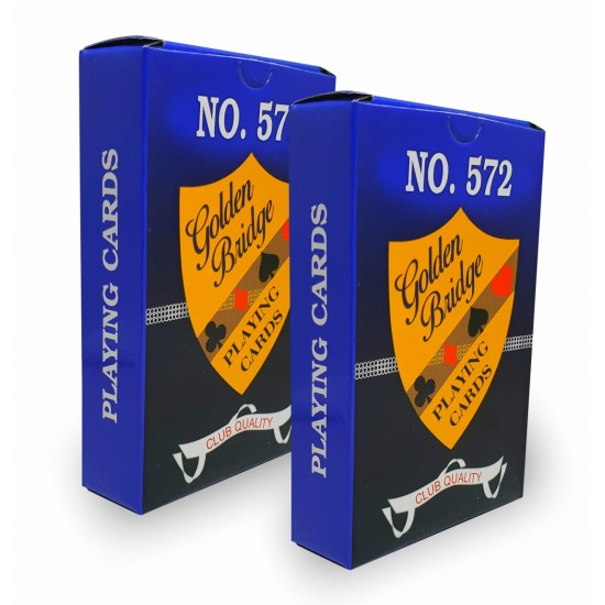 Playing Cards Deck ( 2 Set) Cardistry  Golden Bridge NO.572 Poker Club Cards