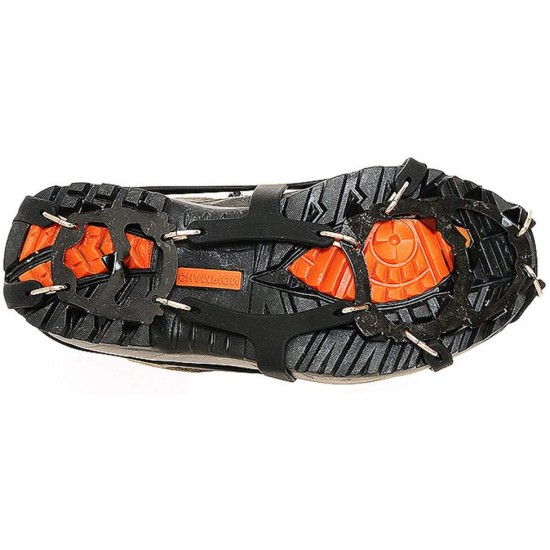 Snow Ice Walking Crampon Anti Slip Band Shoes Hiking Walking for Outdoor