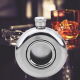Round Transparent 5 OZ Pocket 140 Ml Screw Cap Stainless Steel Hip Flask (With Funnel)