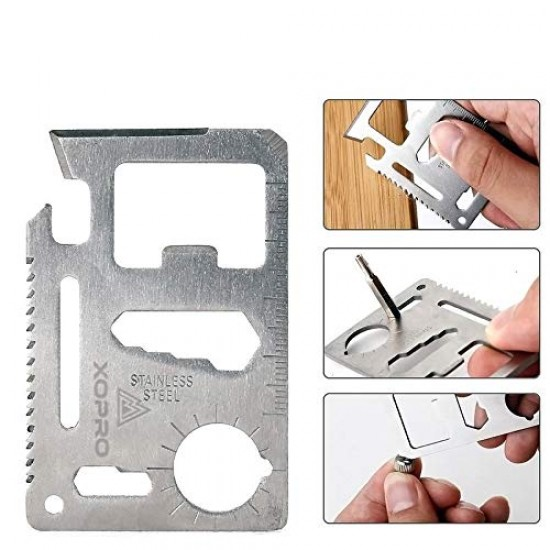 11 in 1 Survival Card Tool Kit ( Credit Card Size)