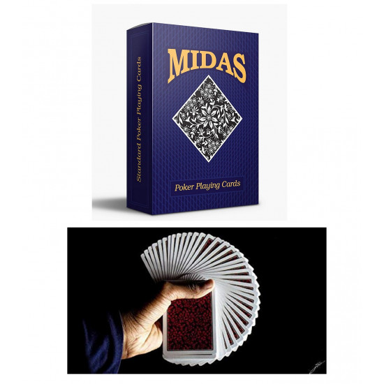 Playing Cards Deck 65mm X 90mm Poker Midas Edition Colorful Club
