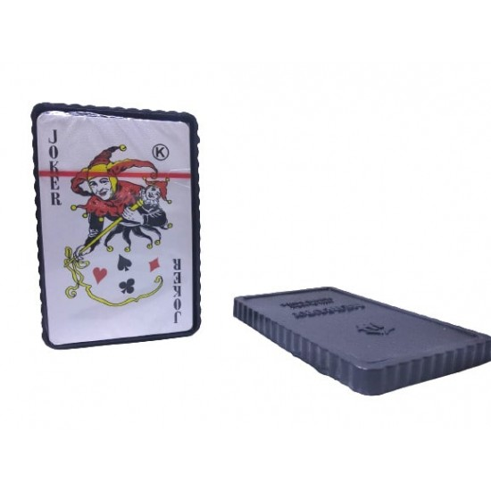 Plastic Playing Cards Deck Mercury Water Proof 90mm X 58mm Colorful Plastic Cards