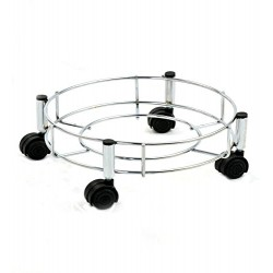 Stainless Steel LPG Gas Cylinder Trolley