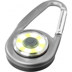 Carabiner Light 6 LED 3 Mode Ultra Bright Safety Locking For Camping Hiking