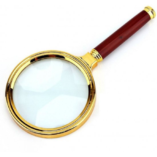 70mm 10X Handheld Magnifier Magnifying Glass Loupe Lens For Easy Reading Jewelry