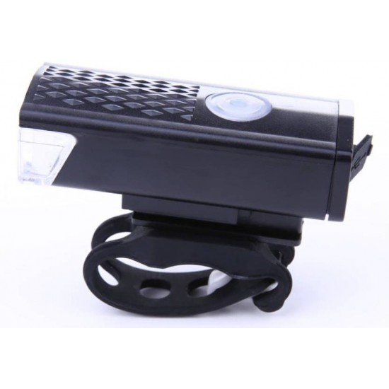 Bike Bicycle LED Lamp USB Rechargeable Waterproof Headlamp Front Light