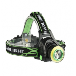 Portable Rechargeable Headlight Water Proof COB Light LED Headlamp