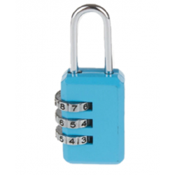 CJSJ 3-Digit Combination Mini Padlock keyless Luggage Security Travelling Code Lock