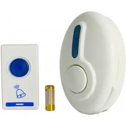 32 Sound Remote Control Cordless Wireless Doorbell