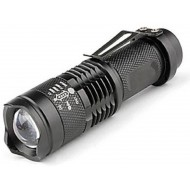 Mini Cree 3.5 Inch Rechargeable LED Outdoor Flashlight Portable Pocket Torch