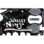 18-in-1 Wallet Ninja Multi-Purpose Tool Credit Card Size