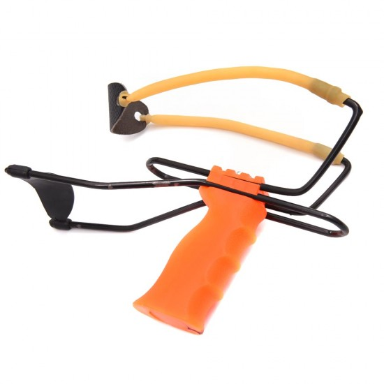 Hunting Outdoor Catapult Powerful Wrist Brace Support Slingshot