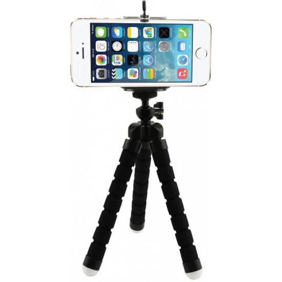 Small Portable Mini Tripod Flexible Lightweight Flexipod Stand For Mobile Camera