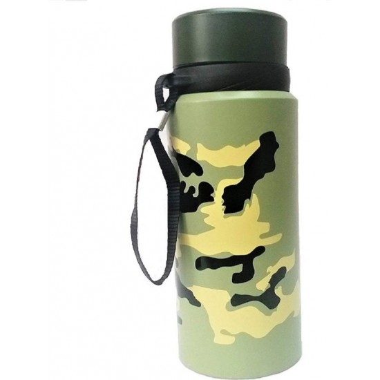 Double Wall Vacuum Insulated Stainless Steel Water Bottle Camping Cycling 750 ml