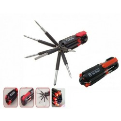 Protos 8 In 1 Multifunction Screwdriver With Integrated LED
